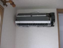 エアコンクリーニング作業の流れステップ2