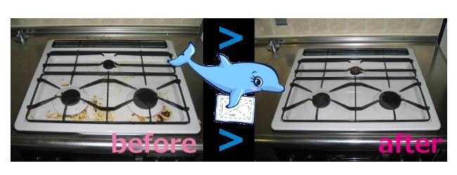 キッチンクリーニング ビフォーアフター02