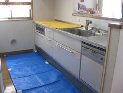 キッチンクリーニング ステップ01