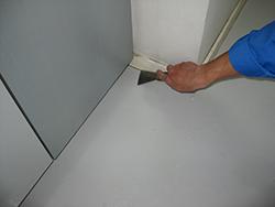 床ワックス作業の流れステップ4