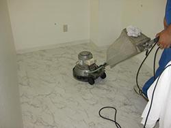 大理石クリーニングの流れステップ3