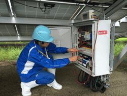 太陽光発電メンテナンス応急時のかけつけ対応