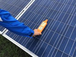 太陽光発電メンテナンス数値測定