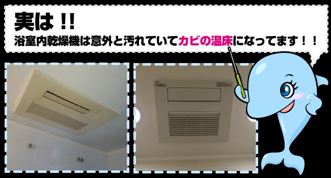 浴室内乾燥機|ハウスクリーニングオプション